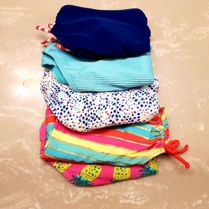 Lot of Old Navy bathing suits